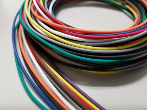 100 FEET AUTOMOTIVE PRIMARY WIRE 14 GAUGE AWG HIGH TEMP GXL 10 COLORS 10 FT EA