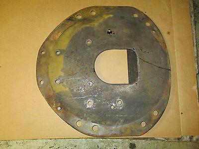 Farmall Ih 806 Gas Tractor Engine Plate