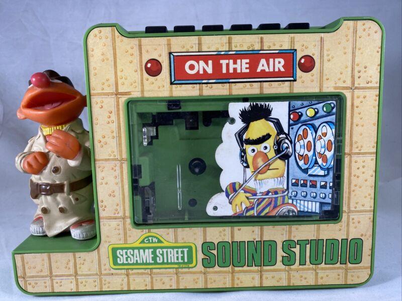 1977 Sesame Street | Sound Studio | Portable Cassette Recorder | Bert & Ernie
