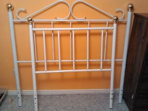 brass double bed head and foot board London Ontario image 1