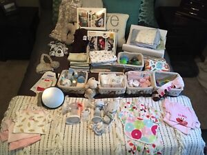 baby items, moving sale