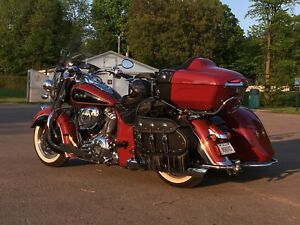 2015 Indian Chief Vintage with Hannigan Sidecar. One of a kind