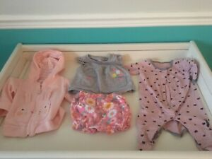 Lot de vêtements 3-9 mois - fille