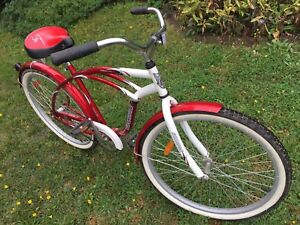 CRUISER BICYCLE (SINGLE SPEED; COASTER BRAKES)