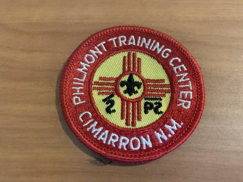 BSA, 1960's Philmont Training Center Patch, Yellow