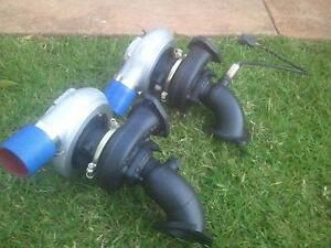 2x mitsubishi td0620g turbos Campbelltown Campbelltown Area Preview