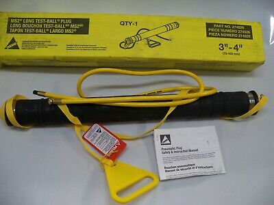 Cherne 274526 Ms2 Long Test - Ball Plug 3 - 4