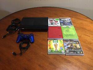 PS3 BUNDLE FOR SALE WITH GAMES $100!