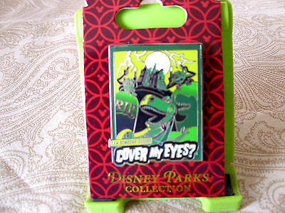 Disney * HAUNTED MANSION - REX - COVER MY EYES * New Toy Story Trading Pin