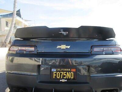 Camaro Hardcore Rear Diffuser Single Mode Exhaust 2014-15