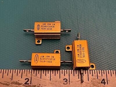 Lot of 3 Dale Power Resistor 25k Ohm 2W