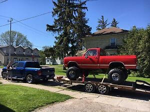 1981 lifted ram southern truck