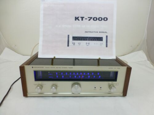 Kenwood KT-7000 Solid State AM/FM Stereo Tuner w/ LED
