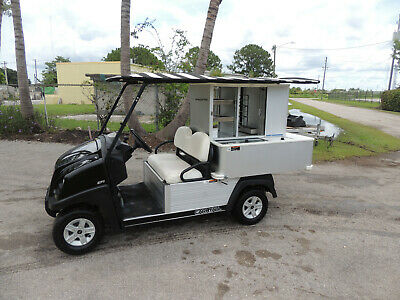 2014 Club Car Caf Express Bar Beverage Food Type Vending Cart Efi Gas Engine