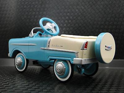 1955 Chevy Pedal Car Rare BelAir  Hot Rod Vintage Sport Metal Midget Model Sale