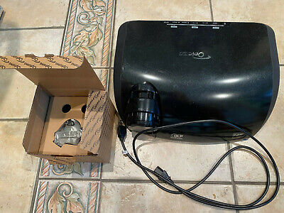 Optoma TX1080 DLP Projector Full HD 1080P  Used includes new bulb with existing.