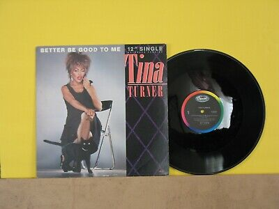 TINA TURNER:BETTER BE GOOD TO ME-HAND CLEANED AND TESTED (Best Music To Clean To)