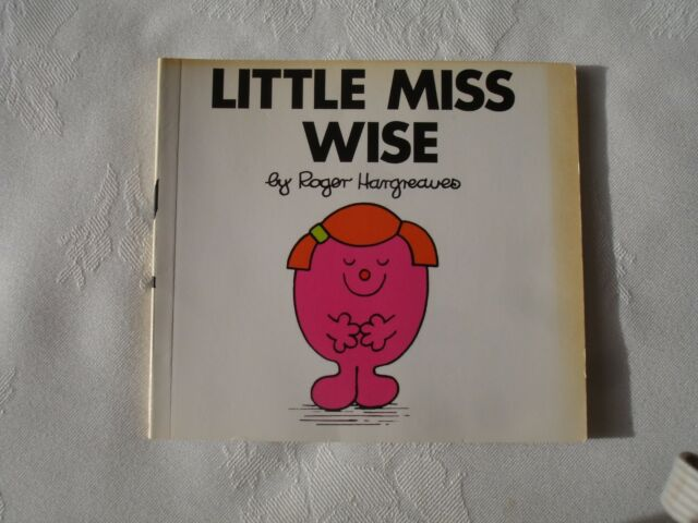 Little Miss Wise Book by Roger Hargreaves