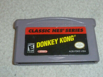 NINTENDO GAMEBOY ADVANCE GAME DONKEY KONG CLASSIC NES SERIES CARTRIDGE ONLY DK  - $14.99