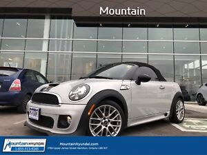 2013 MINI Cooper Roadster S | BLUETOOTH | LEATHER | HEATED SEATS