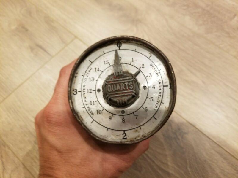 Vintage Badger Meter MFG Co Milwaukee Wis Delivery Gauge Timer Tracker Meter