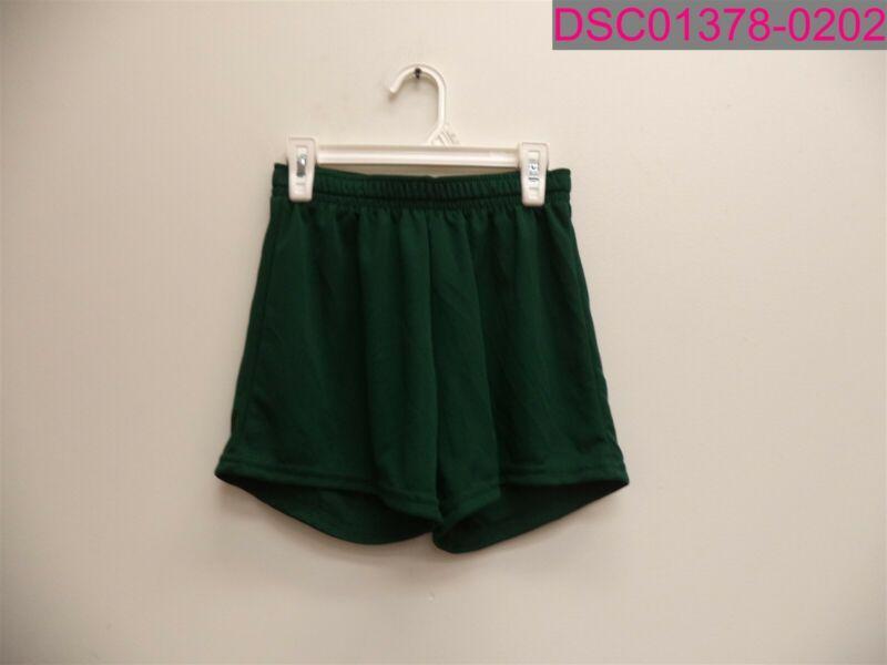 QTY=6, Augusta Sportswear Youth Mesh Shorts Green Medium