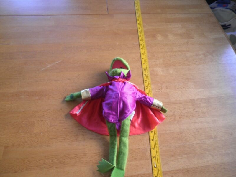 "1981 Kermit the Frog Fisher-Price 857 vintage Plush 14"" Muppets Prince"