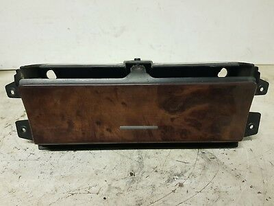 BMW X5 E53 CENTRE CONSOLE ASH TRAY 12V LIGHTER HOUSING WOOD TRIM 8402967