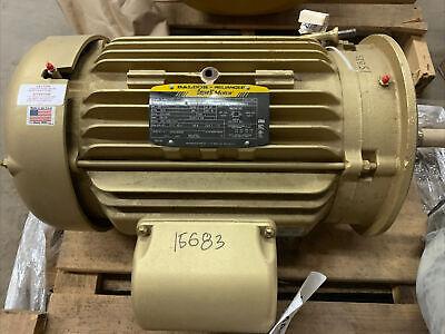 Baldor Ejmm4107t 25hp Motor With Paco 10-307071400012871 Pump 3525 Rpm