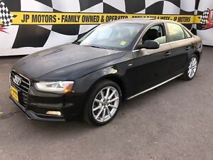 2015 Audi A4 Progressive, Navigation, Leather, Sunroof, AWD