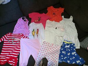 0-6 months baby girl clothes lot #1