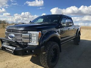 2017 FORD F-350 PLATINUM  FX4 *POWER STROKE, LEVELLING KIT*