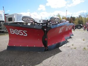 2017 BOSS 8ft 2in Poly V-Blade Plow