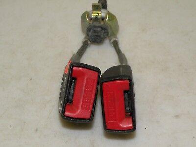 CITROEN C3 PLURIEL 2003 LHD REAR MIDLE CENTRE SEAT BELT BUCKLE 33028758