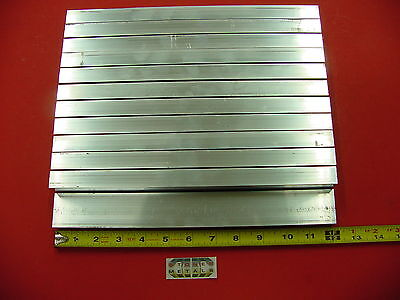 12 Pieces 34x 1-12x 18 Wall Aluminum Rectangle Tube 6063 T52 X 12 Long