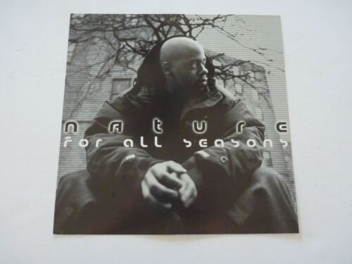 Nature For All Seasons Promo LP Record Photo Flat 12x12 Poster