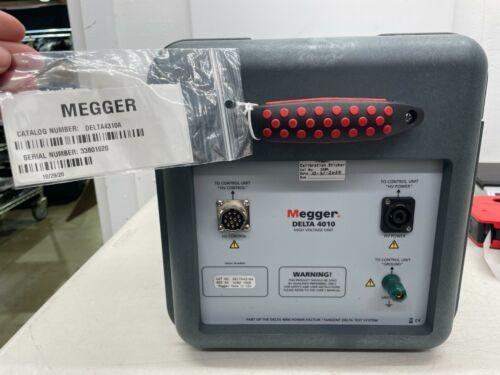 Megger Delta 4010 High Voltage Unit