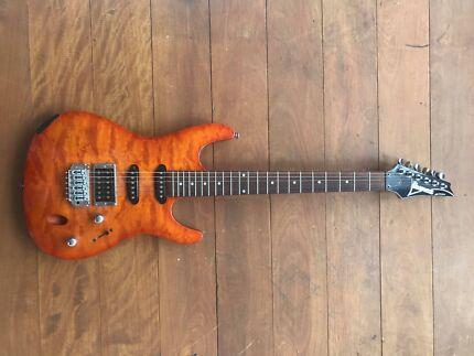 Amber IBANEZ SA Series Electric Guitar