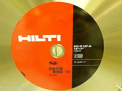 New Hilti Dc-d Up-s 14x0.13x1concretebrickasphalt Diamond Cut Off Saw Blade