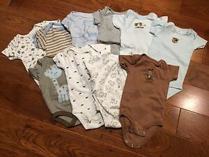 Bundle of baby clothes (41 pieces) 0-3 month