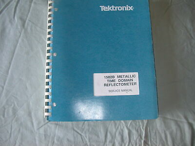 Service Manual For Tektronix 1502b Metallic Time Domain Reflectometer July 1991
