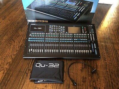 Allen & Heath QU-32 Mixer (Chrome Edition)