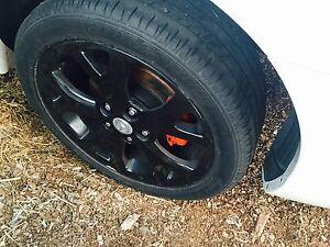 Mazda 3 Sedan, rim with tyres80% tread only $600 Como South Perth Area Preview
