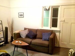 Great condition brown two seater sofa bed Bellevue Hill Eastern Suburbs Preview
