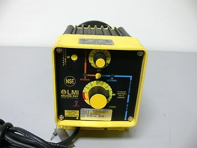 Lmi Milton Roy Electromagnetic Dosing Pump C741-35t 120 Vac 5060 Hz 3.5 A