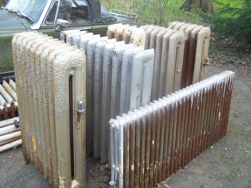 Vintage Steam Radiators Very Ornate 8 total. $80 each/best offer