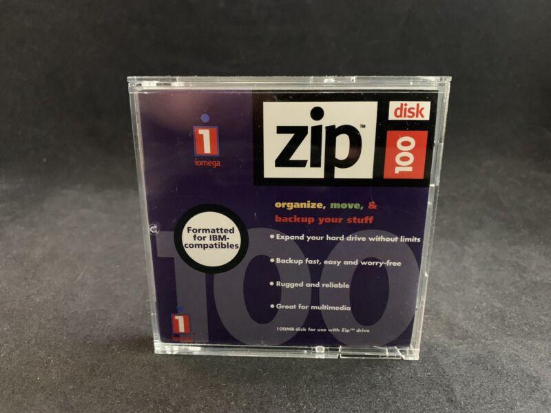 IOMEGA 100MB Zip Disk