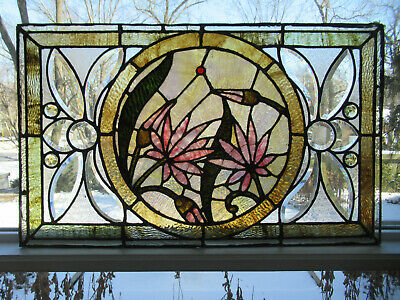 Beautiful Diamond Pattern! Reclaimed Architectural Glass Building Block #2