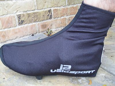J2 Velosport Cycling Booties/Shoe Covers Sizes S-XL Wind/Water Resistant
