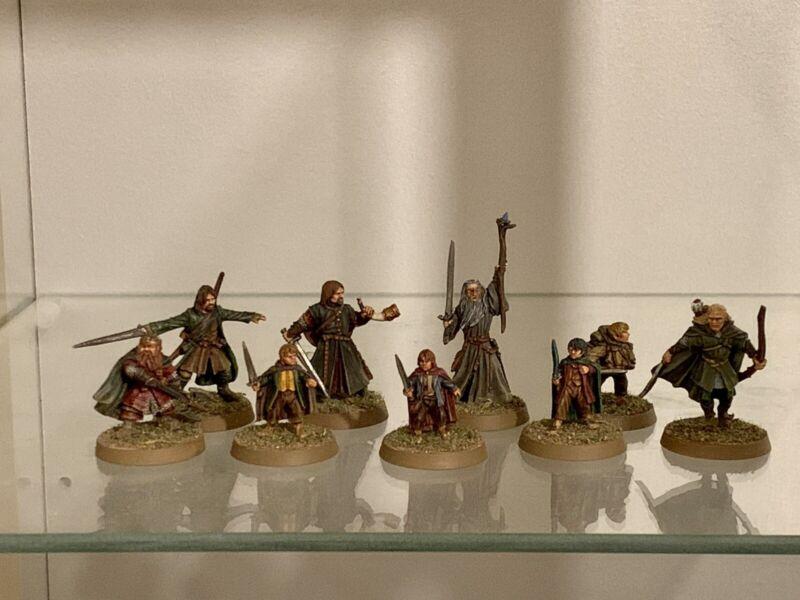 Lotr Warhammer Fellowship Painted
